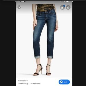 Lucky Brand Jeans Sweet'n Crop Jeans